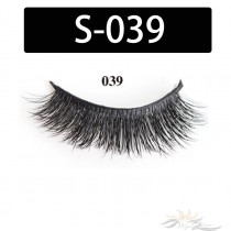 5D Silk Lashes Handmade Natural False Eyelash 5 Pairs/Pack [S-039]