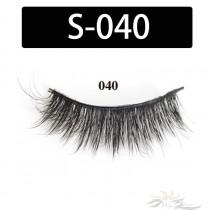 5D Silk Lashes Handmade Natural False Eyelash 5 Pairs/Pack [S-040]
