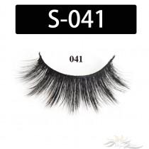 5D Silk Lashes Handmade Natural False Eyelash 5 Pairs/Pack [S-041]