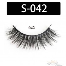5D Silk Lashes Handmade Natural False Eyelash 5 Pairs/Pack [S-042]
