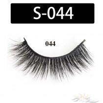 5D Silk Lashes Handmade Natural False Eyelash 5 Pairs/Pack [S-044]
