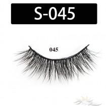 5D Silk Lashes Handmade Natural False Eyelash 5 Pairs/Pack [S-045]