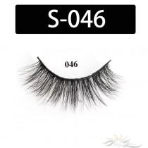 5D Silk Lashes Handmade Natural False Eyelash 5 Pairs/Pack [S-046]