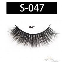5D Silk Lashes Handmade Natural False Eyelash 5 Pairs/Pack [S-047]