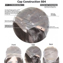 CUSTOM MADE THIN SKIN LACE WIG EXACTLY AS YOU WANT [S04]