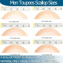 Man Hair Replacements Front Scallop Helpful Information