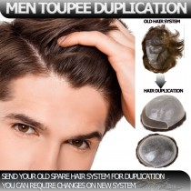 Man Hair Replacements Toupees Duplication