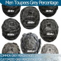 Man Hair Replacements Grey Percentage Helpful Information